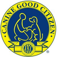 Canine Good Citizen - American Kennel Club logo dog trainers