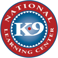 National K-9 Learning Center logo - canine